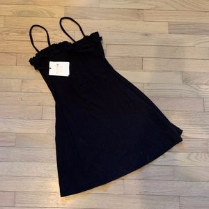 NWT - Aritzia x Sunday best black dress Size s